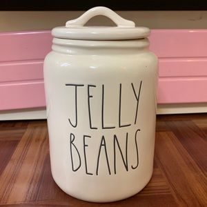 Rae Dunn Jelly Beans Medium Canister BRAND NEW